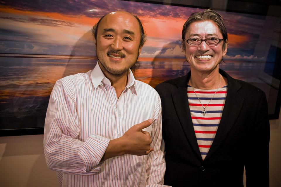 高砂淳二さんとロバート・ハリスさん