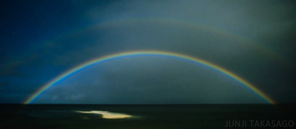 NIGHT RAINBOW ON MAUI