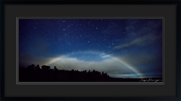 NIGHT RAINBOW ON BIG ISLAND