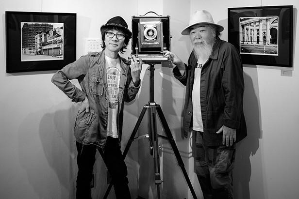 田中長徳さんと坂崎幸之助さんとディアドルフ